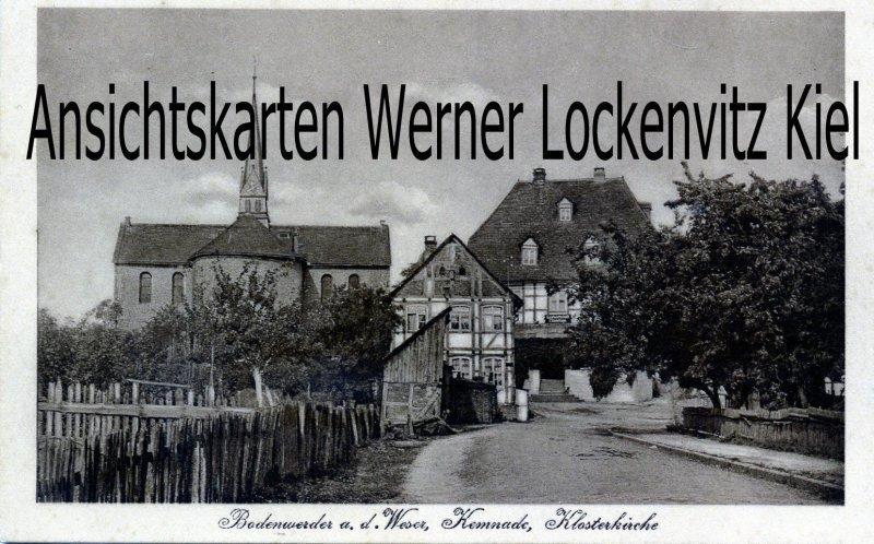 Ansichtskarte Bodenwerder Kemnade Klosterkirche