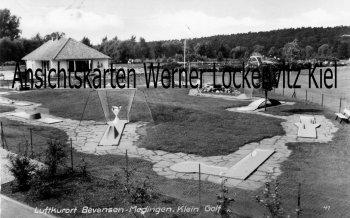 Ansichtskarte Bad Bevensen-Medingen Klein Golf Minigolf