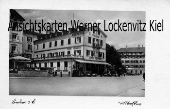 Ansichtskarte Lindau Bodensee Hotel Helvetia