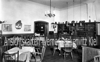 Ansichtskarte Fulda Hotel zum Ritter beim Dom Bes. Erwin Veldung Innenansicht
