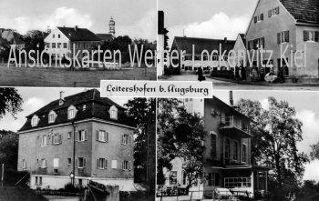 Ansichtskarte Stadtbergen-Leitershofen Gasthaus zum Mohrenkopf Gebäude
