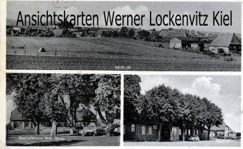 Ansichtskarte Seedorf-Berlin Ortsansicht Geschäftshaus Wilh. Blunk Gasthof