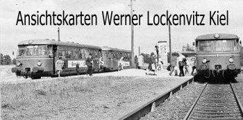 Ansichtskarte Henstedt-Ulzburg Vorortbahnen AKN und ANB im Bahnhof Ulzburg-Süd