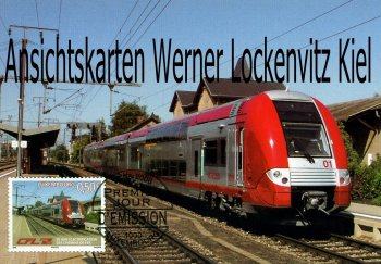 Ansichtskarte Luxemburg Luxembourg Serie Z 2200 Alstom