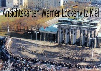 Ansichtskarte Berlin Zum 1. Jahrestag der Maueröffnung
