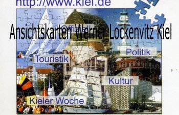 Ansichtskarte Kiel im Internet Puzzle
