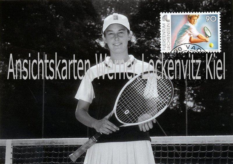 Liechtenstein Tennis Maximumkarte