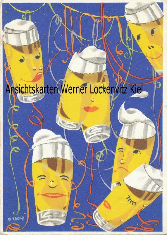 Ansichtskarte Werbekarte Bierwerbe G.m.b.H. Bad Godesberg Bier