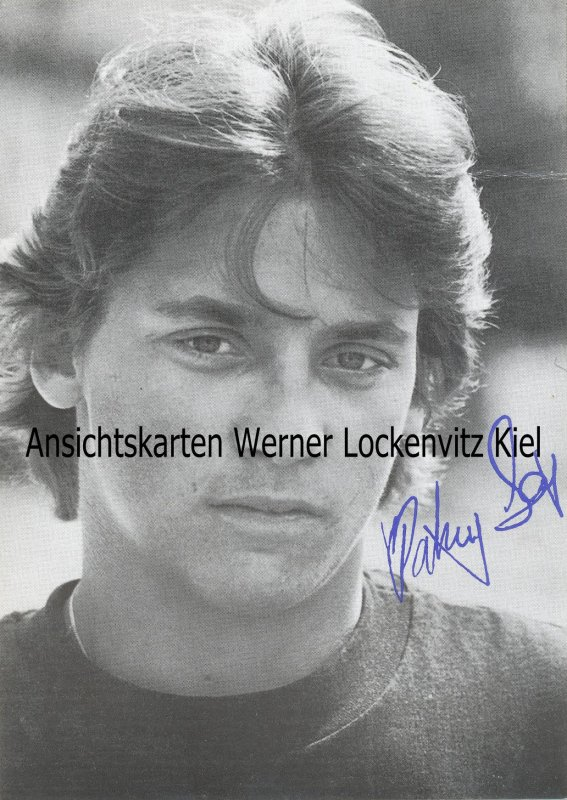Patrick Bach Schauspieler mit Originalautogramm