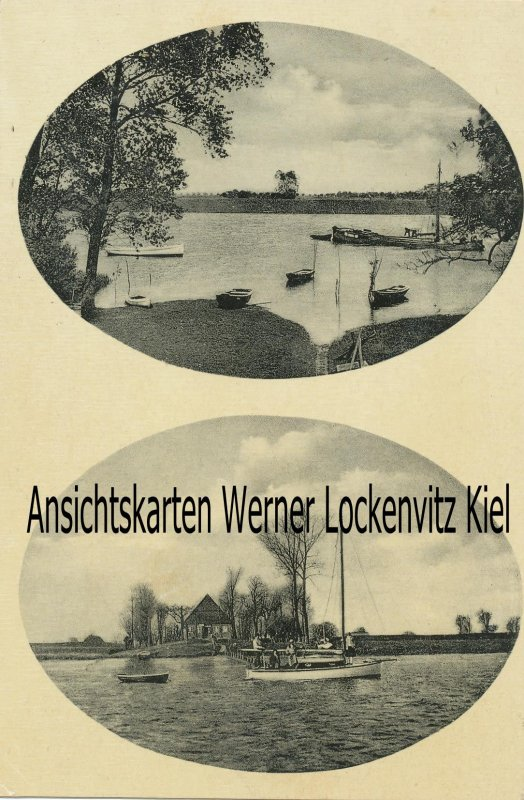 Ansichtskarte Beidenfleth an der Stör Gasthaus Uhrendorfer Fähre Bes. Johs. Borchert Wilstermarsch