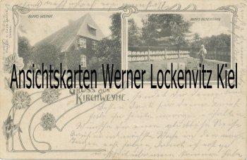 Ansichtskarte Weyhe-Kirchweyhe Buhrs Gasthof mit Bienenstand Bienen