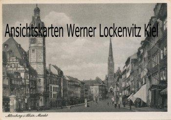 Ansichtskarte Altenburg Markt