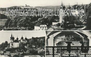 Ansichtskarte Österreich Artstetten Schloß Ortsansicht Niederösterreich