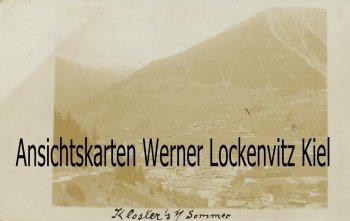 Ansichtskarte Schweiz Ortsansicht von Klosters Thurgau