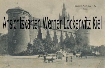 Ansichtskarte Königsberg Калинингра́д Kaliningrad Schloss