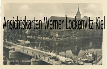 Ansichtskarte Königsberg Калинингра́д Kaliningrad Dominsel