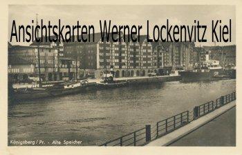 Ansichtskarte Königsberg Калинингра́д Kaliningrad Alte Speicher