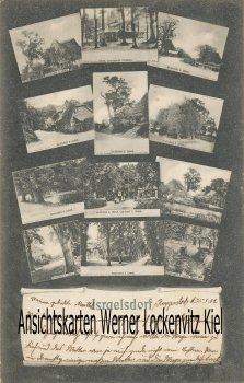 Ansichtskarte Lübeck-Israelsdorf Postkarten auf Postkarte