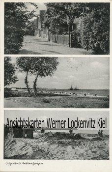Ansichtskarte Boltenhagen Straßenansicht Strand