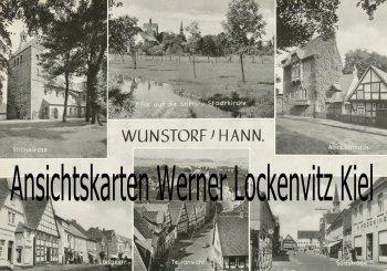 Ansichtskarte Wunstorf Südstraße Langestraße
