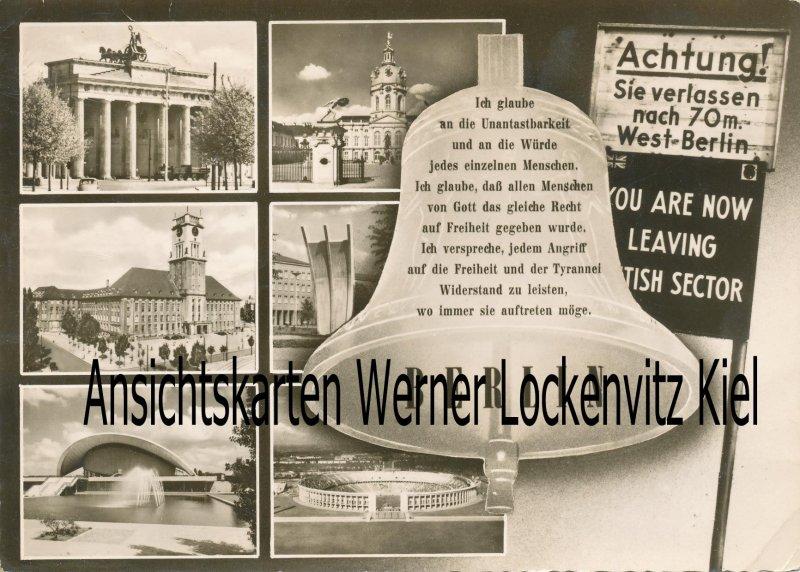 Ansichtskarte Berlin Sehenswürdigkeiten