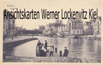 Ansichtskarte Am Delft in Emden