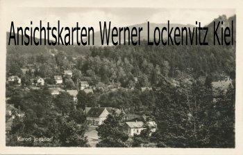 Ansichtskarte Kurort Jonsdorf Ortsansicht