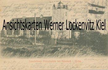 Ansichtskarte Neustadt-Pelzerhaken Leuchtfeuer