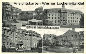 Ansichtskarte Hildesheim Bernwardskrankenhaus