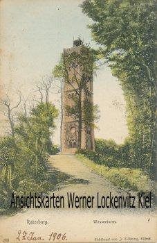 Ansichtskarte Ratzeburg Wasserturm