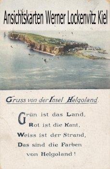 Ansichtskarte Gruss von der Insel Helgoland