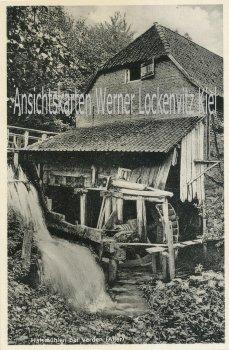 Ansichtskarte Verden-Halsmühlen Aller Wassemühle