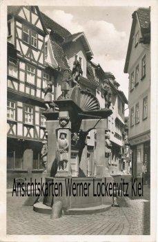 Ansichtskarte Wertheim am Main Engelsbrunnen