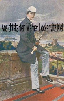 Ansichtskarte Prinz Wilhelm als Bonner Borusse sign. K. Rumpel Studentica