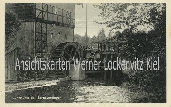 Ansichtskarte Schneverdingen-Lünzen Mühle Wassermühle