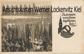 Ansichtskarte Tschechien Pardubice Kongress 1950