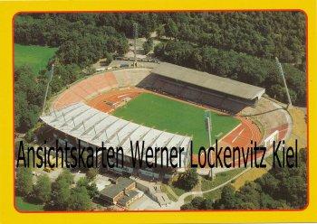 Ansichtskarte Karlsruhe Wildparkstadion Luftbild