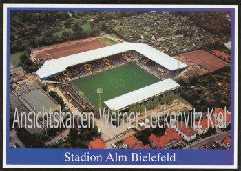 Ansichtskarte Bielefeld Stadion Alm Luftbild