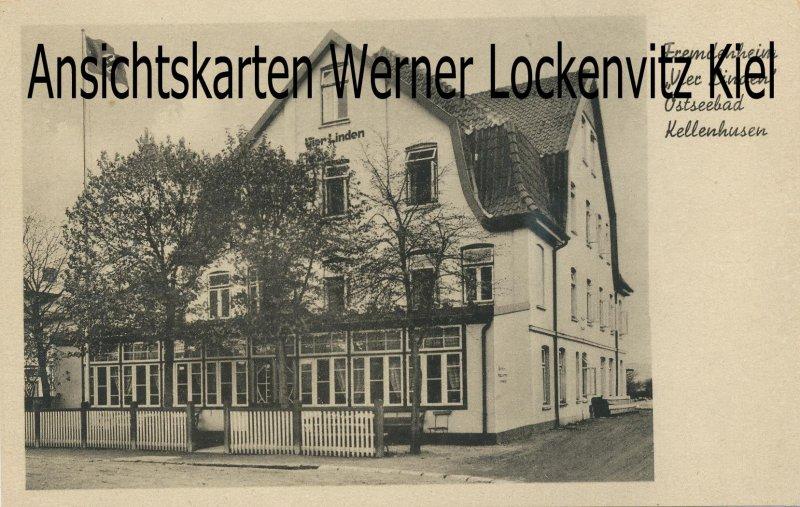 Ansichtskarte Kellenhusen Fremdenheim Vier Linden K.L.V.-Heim KLV