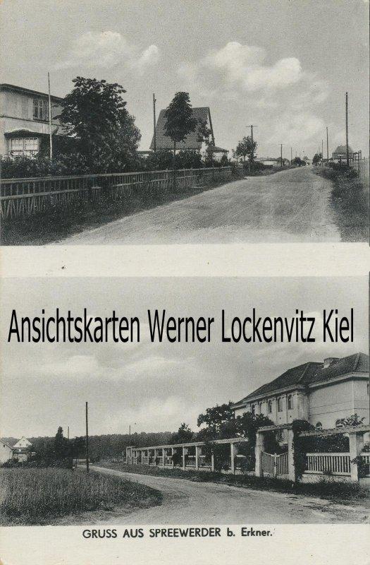 Ansichtskarte Grünheide-Spreeau-Spreewerder Ortsansichten