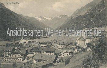 Ansichtskarte Italia Gossensaß Ortsansicht Südtirol