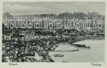 Ansichtskarte Österreich Bregenz Ortsansicht Vorarlberg