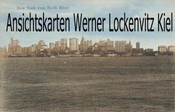 Ansichtskarte USA New York vom North River