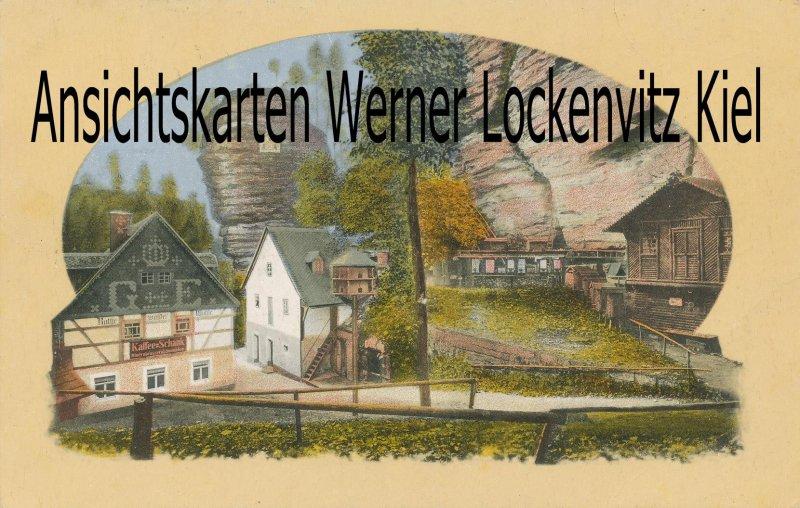 Ansichtskarte Hohnstein Rathewalder Mühle