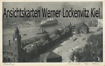 Ansichtskarte Hamburg Ausreise der Cap Arkona