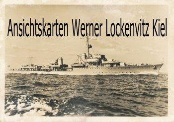 Ansichtskarte Schiffe Kriegsschiffe  Zerstörer