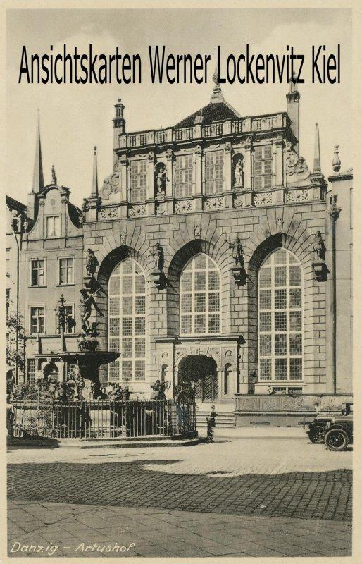 Ansichtskarte Danzig Gdańsk Artushof