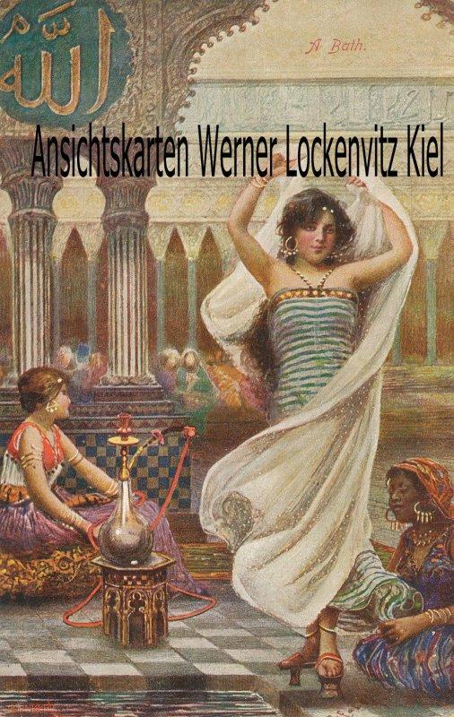 Ansichtskarte Orient Frau im Bad