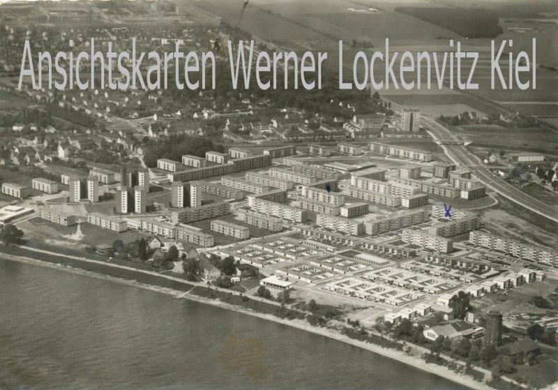Ansichtskarte Köln-Stammheim Ortsansicht Luftbild