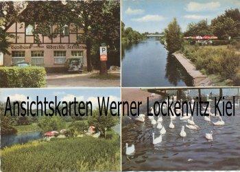 Ansichtskarte Berlin-Mariendorf Restaurant Zum alten Albrechts Teerofen Inh. Irma Stoellger